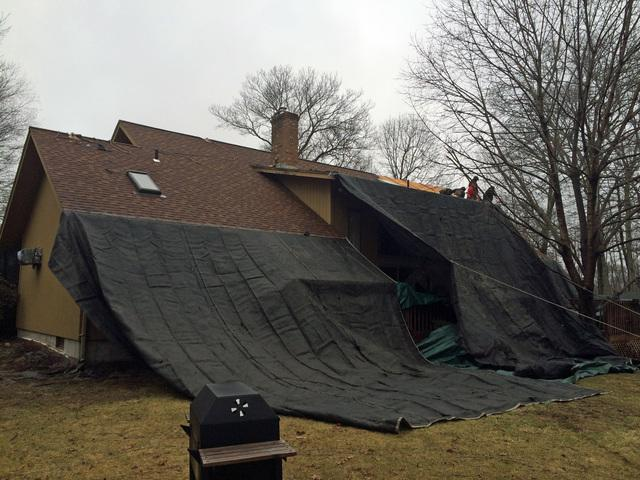 New Roof & Skylight System in Columbia, CT