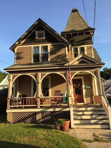 A New Gothic Revival Style Roof in Stafford, CT