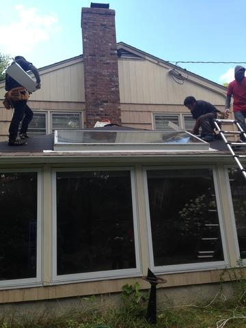Deep River, CT Skylight Replacement