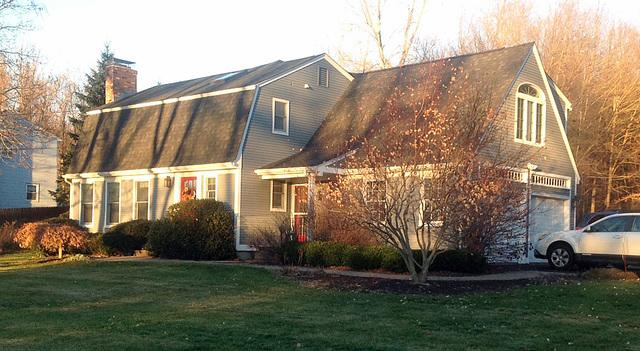 Total Roof Replacement on Dutch Colonial in Coventry, CT