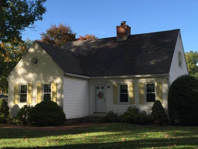 Cape Cod Style House - Roof Replacement in Simsbury, CT