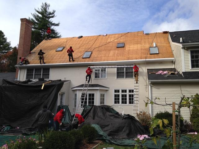 Roof Replacement, Simsbury, CT
