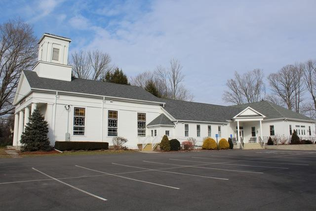Roofing the Baptist Church of Lebanon, CT - After Photo