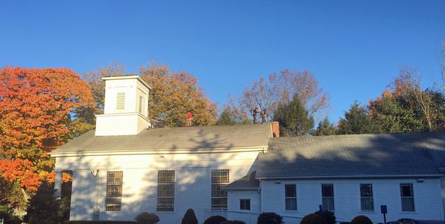 Roofing the Baptist Church of Lebanon, CT
