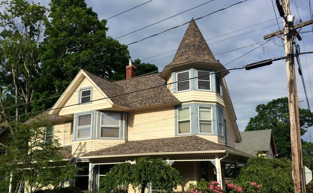 Victorian Roof Replacement in Willimantic, CT