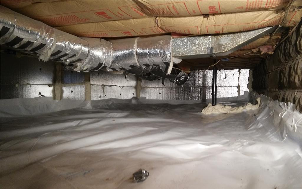 Crawl Space Insulation in Royal Oak, MI - After Photo