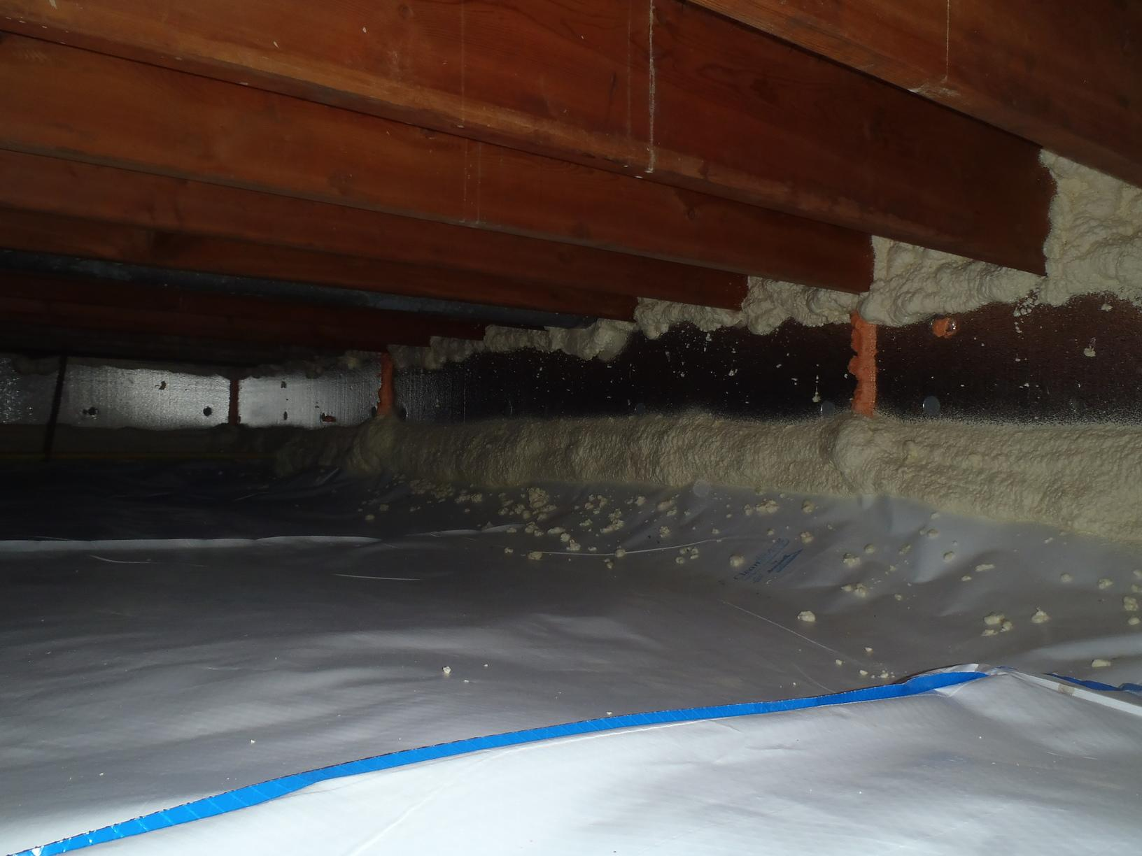 Crawl Space Encapsulation & Air Sealing in Grosse Pointe, MI - After Photo
