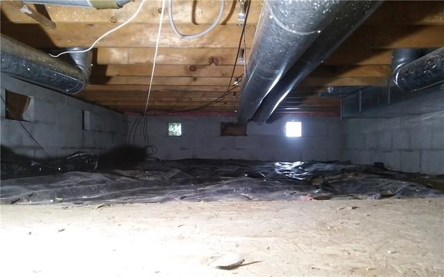 Crawl Space Encapsulation in Southfield, MIchigan