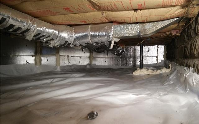 Crawl Space Insulation in Royal Oak, MI