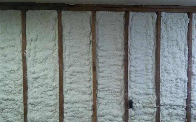 Spray Foam Installation on Romulus, MI Home's Interior Walls - After Photo