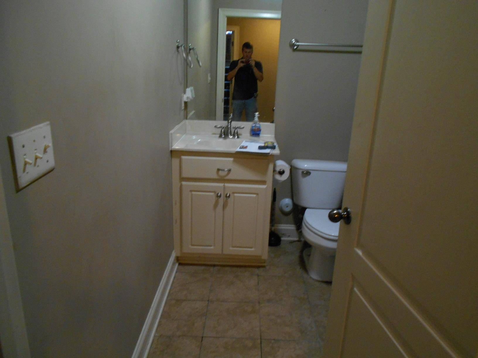 Project: Water Damage in Trussville, AL - Before Photo