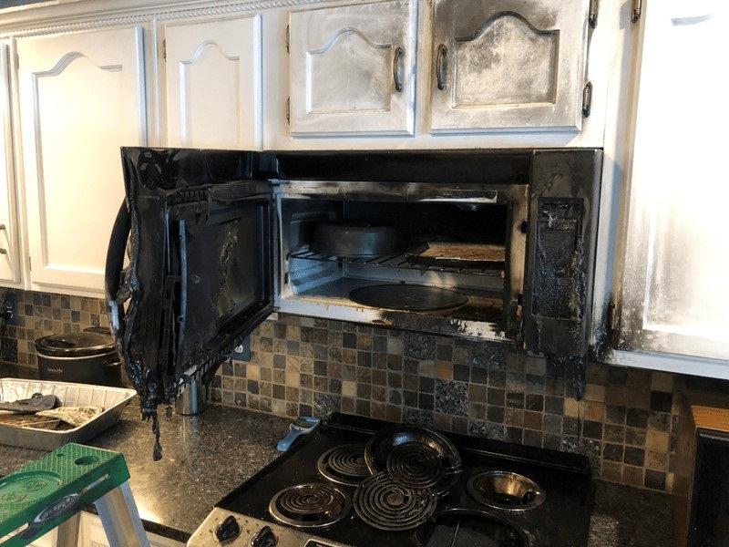 Kitchen Fire in Pleasant Grove, AL - Before Photo