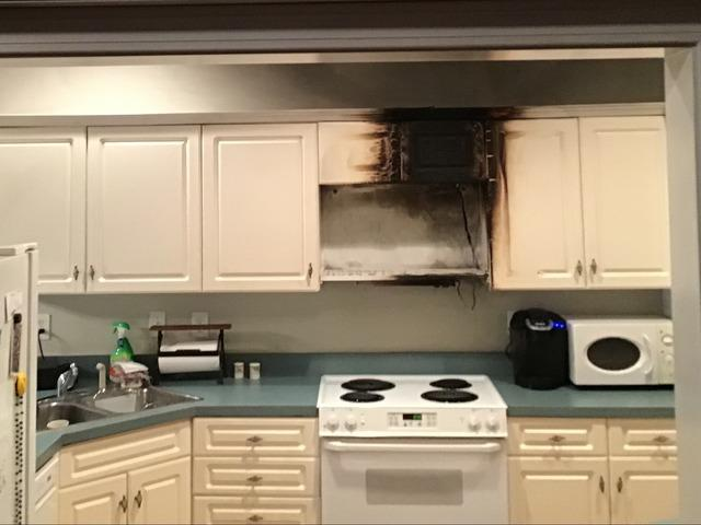 Fire damage repair in Pinson, AL - Before Photo