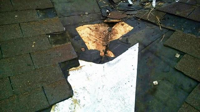 Water Damage from Roof Leak in Gardendale, AL