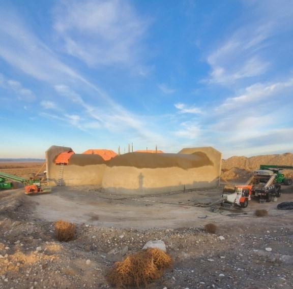 Shotcrete Home Shell in Fernley, NV 89408 - After Photo