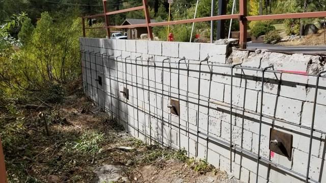 Shotcrete at Valley View
