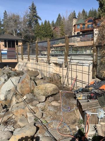 Shotcrete Retaining Wall in Kings Beach, CA 96143