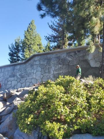 Shotcrete Wall in Incline Village, NV 89451
