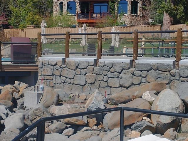 Brockway Springs Retaining Wall in Kings Beach, CA