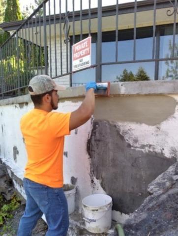 Concrete Patch Work