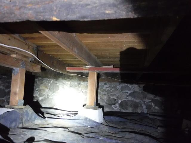 Crawl Space Support and Encapsulation in Sparks, NV