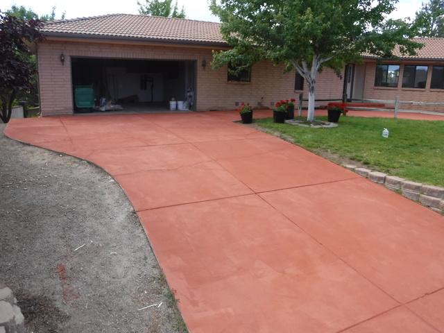 Concrete Driveway Repaired in Reno, NV