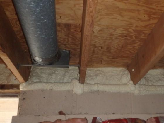 Rim and Band Joist Treatment in North Potomac, MD - After Photo