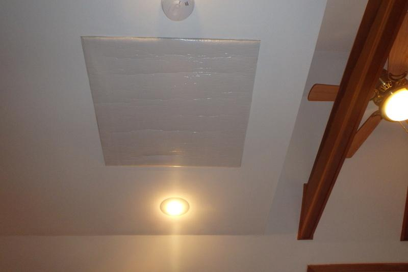 Attic Fan Cover in Takoma Park, MD - After Photo