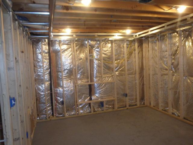 Air Seal Basement in Pomfret, MD - Before Photo