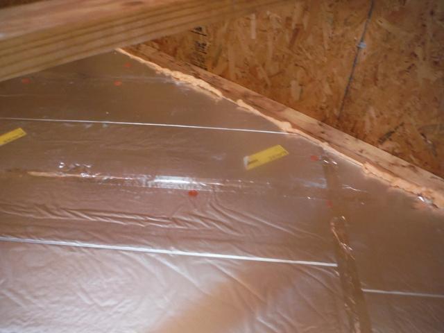 Foam Board Garage Insulation in Lothian, MD - After Photo