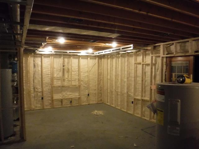 Air Seal Basement in Pomfret, MD - After Photo