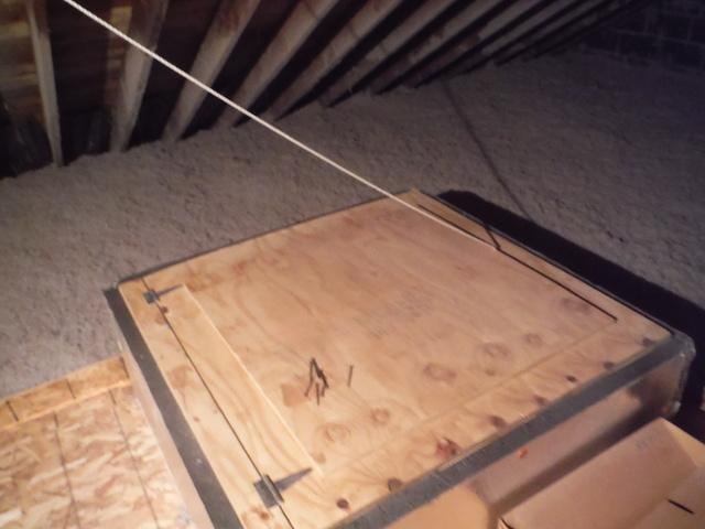 Air Seal Attic Fan in Bethesda, MD - After Photo
