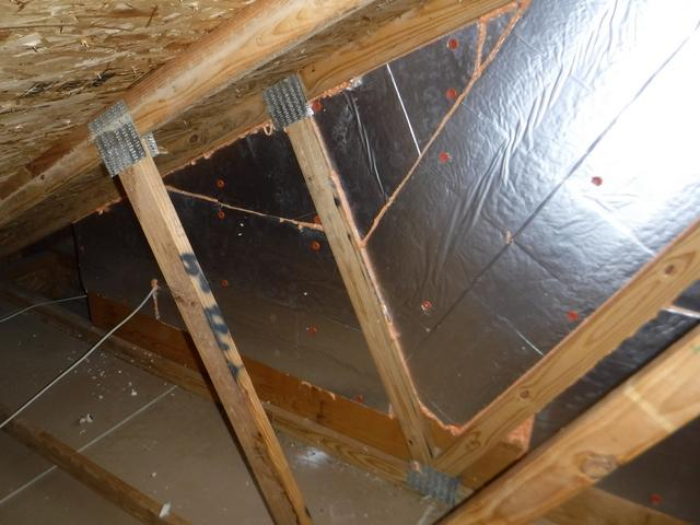 Attic Knee Wall Insulated in Waldorf, MD - After Photo