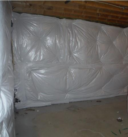 Basement Insulation in La Plata, MD - After Photo