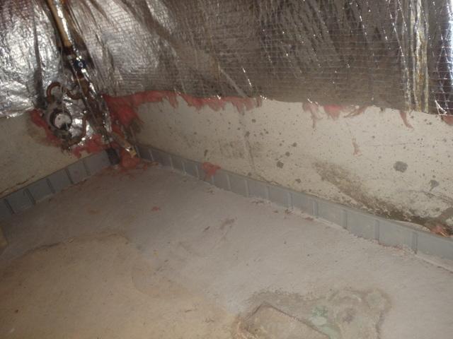Basement Insulation in La Plata, MD - Before Photo