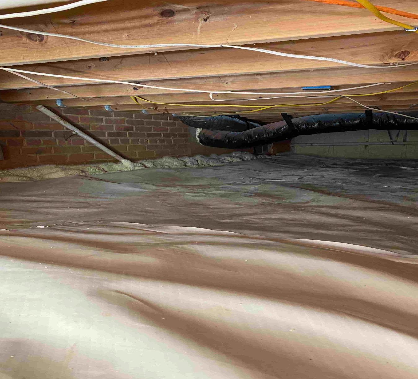 Crawl Space Encapsulation in Silver Spring, MD - After Photo