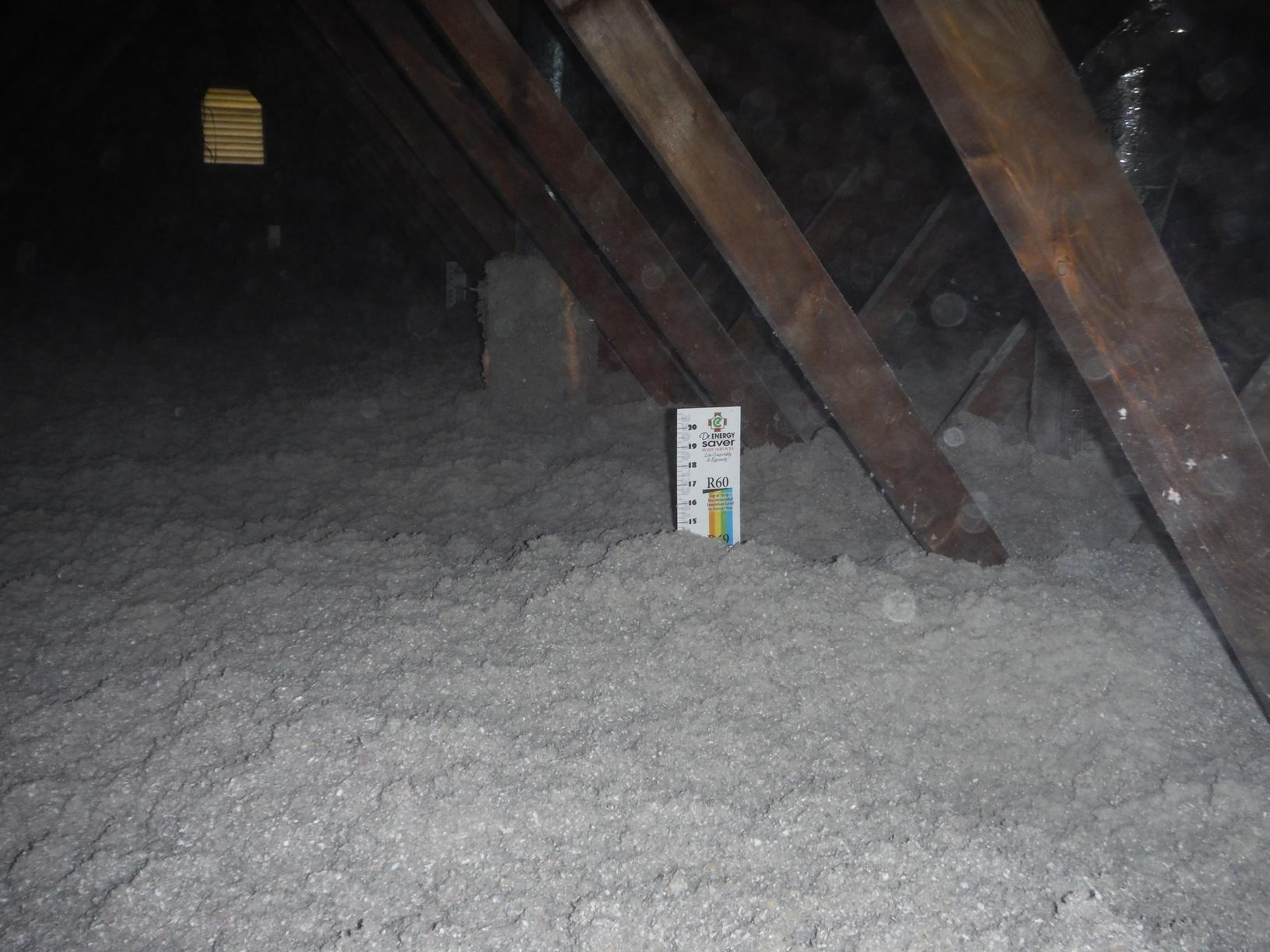 Attic Insulation in Washington,DC - After Photo