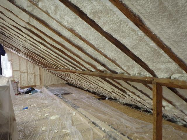 Spray Foam in Silver Spring, Maryland - After Photo