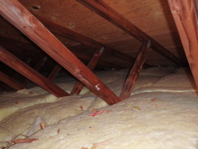 Attic Insulation in Bethesda, MD - Before Photo