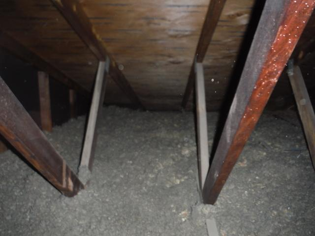 New Attic Insulation in Landover, MD - Before Photo
