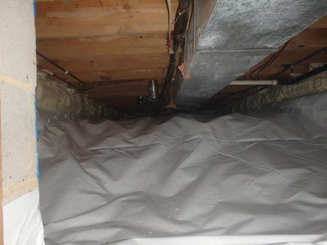 Crawl Space Improvements in North Potomac, MD