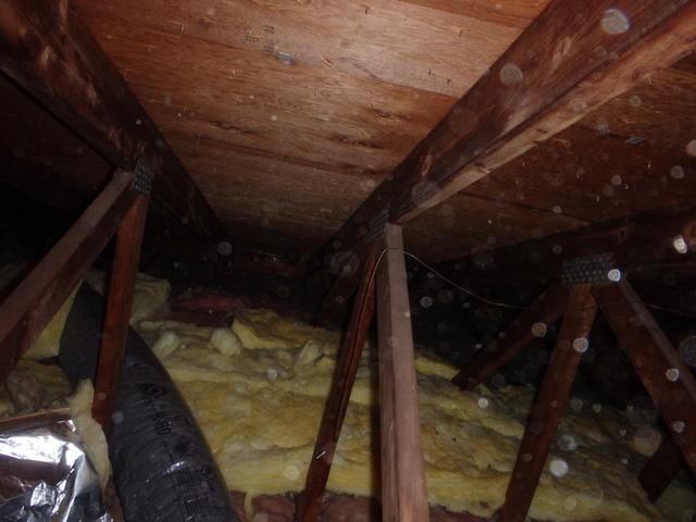Attic Gets New Cellulose Insulation in Suitland, MD
