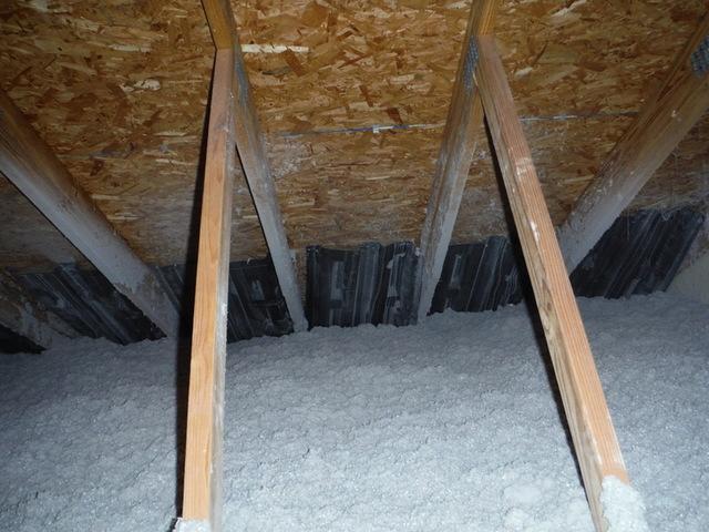 New Cellulose Attic Insulation in Riva, MD