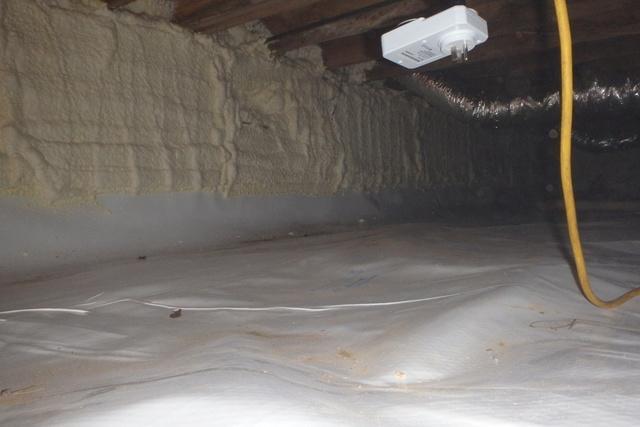 Crawl Space Air Seal in Brandywine, MD