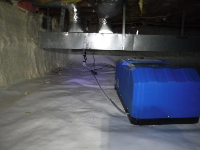 Crawl Space Air Sealing in Crownsville, MD