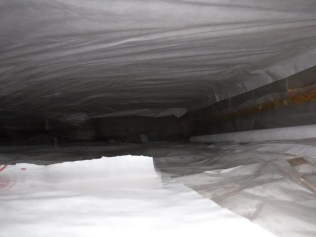 Crawl Space Air Sealed in Linthicum Heights, MD