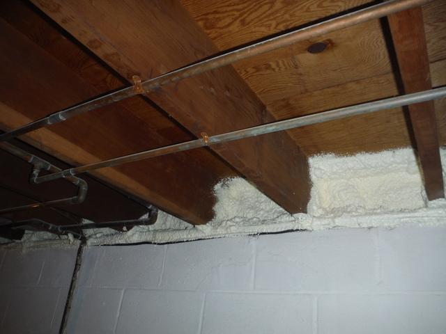 Basement Spray Foam Insulation in Severna Park, MD - After Photo