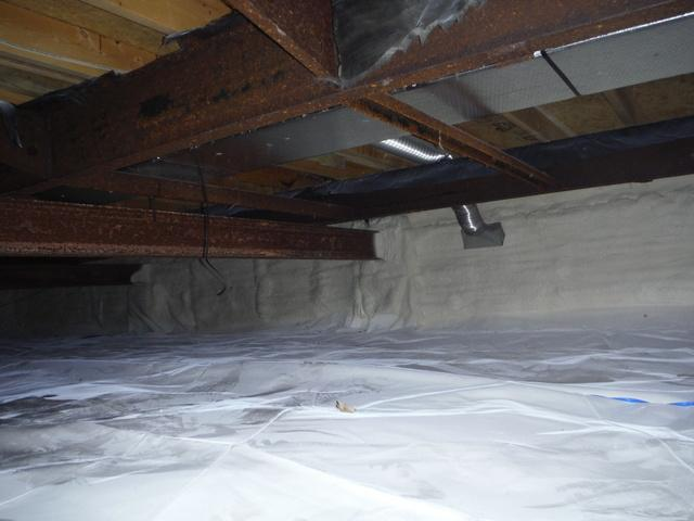 Crawl Space Encapsulated in Germantown, MD