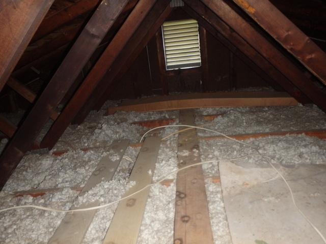 Attic Insulation in Silver Spring, MD - Before Photo