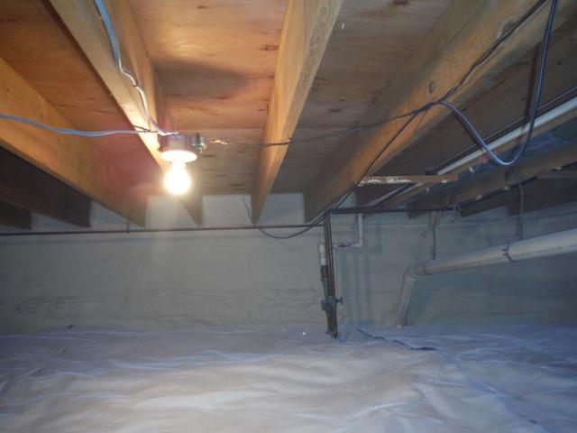 Crawl Space Air Sealing in Leonardtown, MD